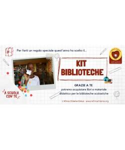 """Kit  Biblioteca """"A Scuola con Te"""" per acquistare libri per biblioteche scolastiche"""